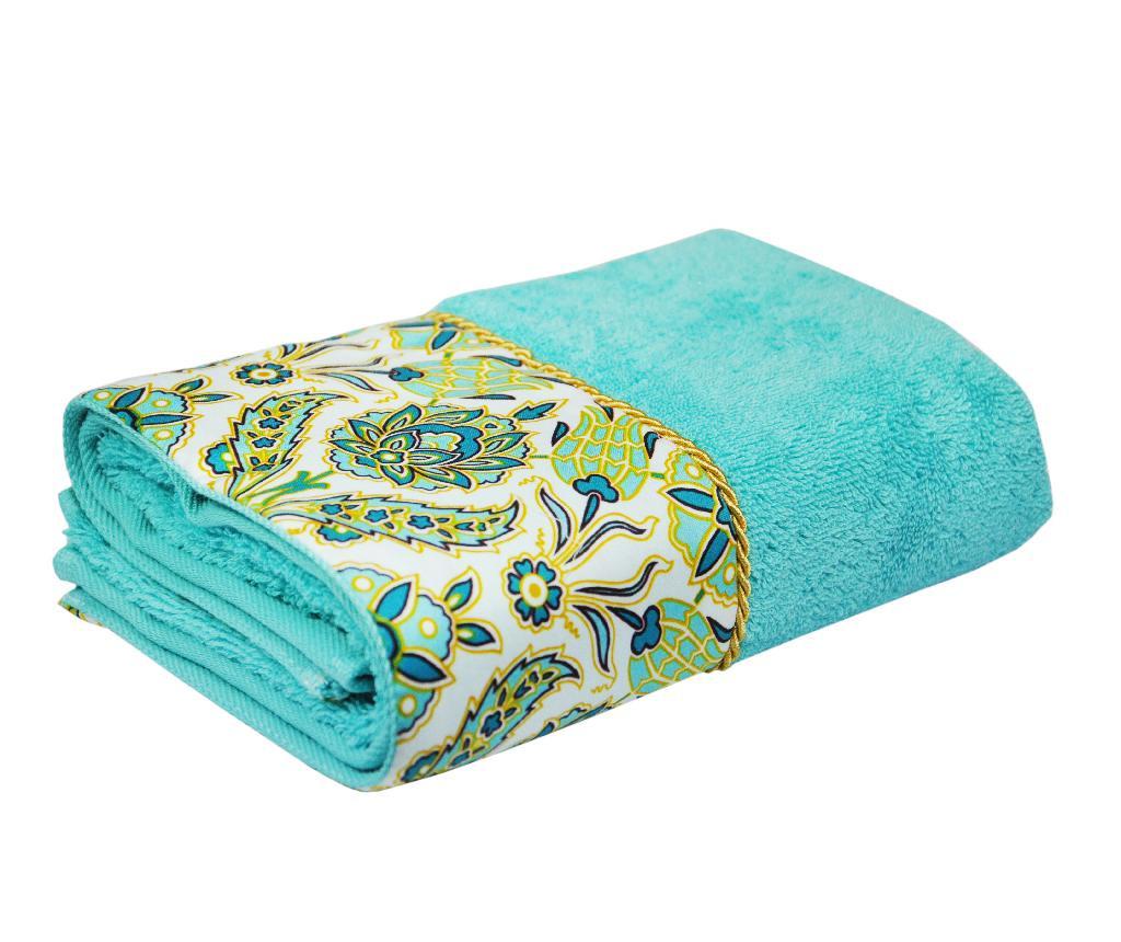Mirimah Turquoise Fürdőszobai törölköző 50x90 cm