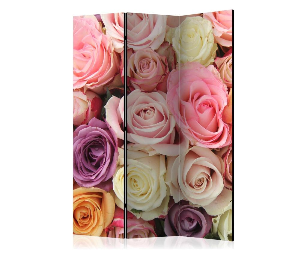 Pastel Roses Szobaelválasztó
