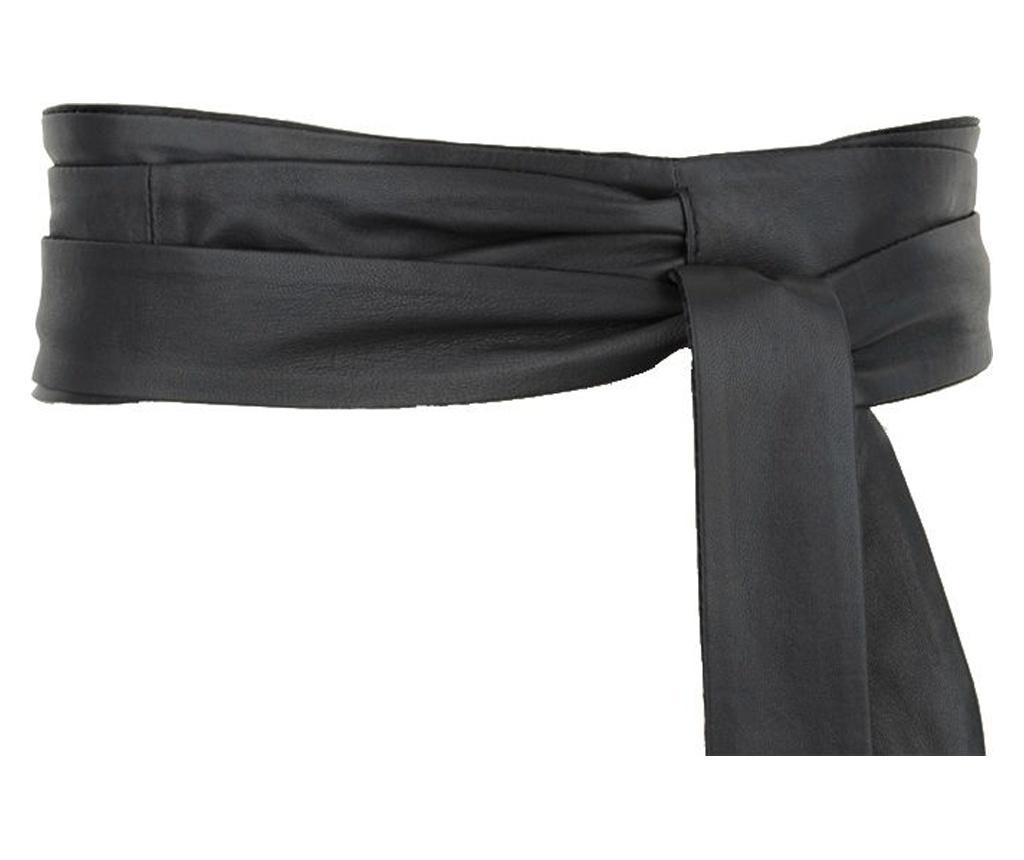 Ženski remen Wrap Around Black 230 cm