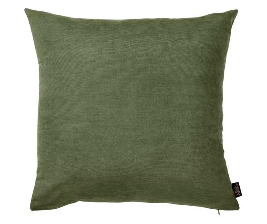 Jastučnica Plain Green 43x43 cm