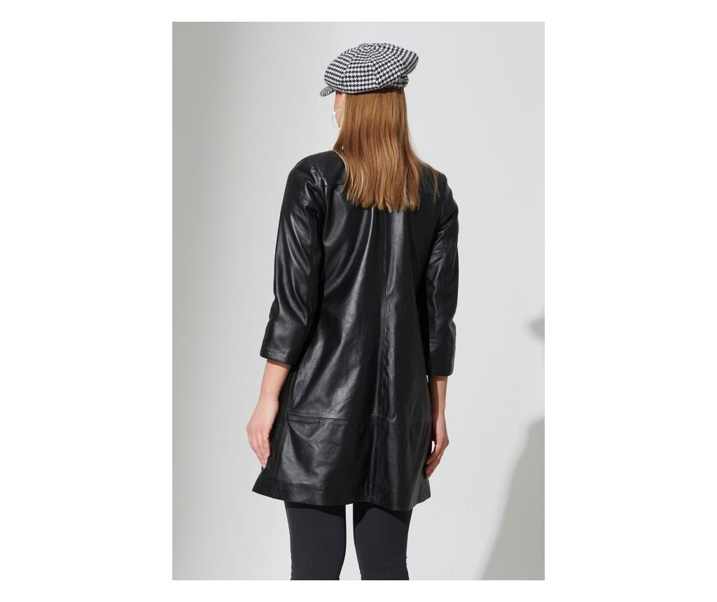 Ženska kožna jakna Iparelde Black XL