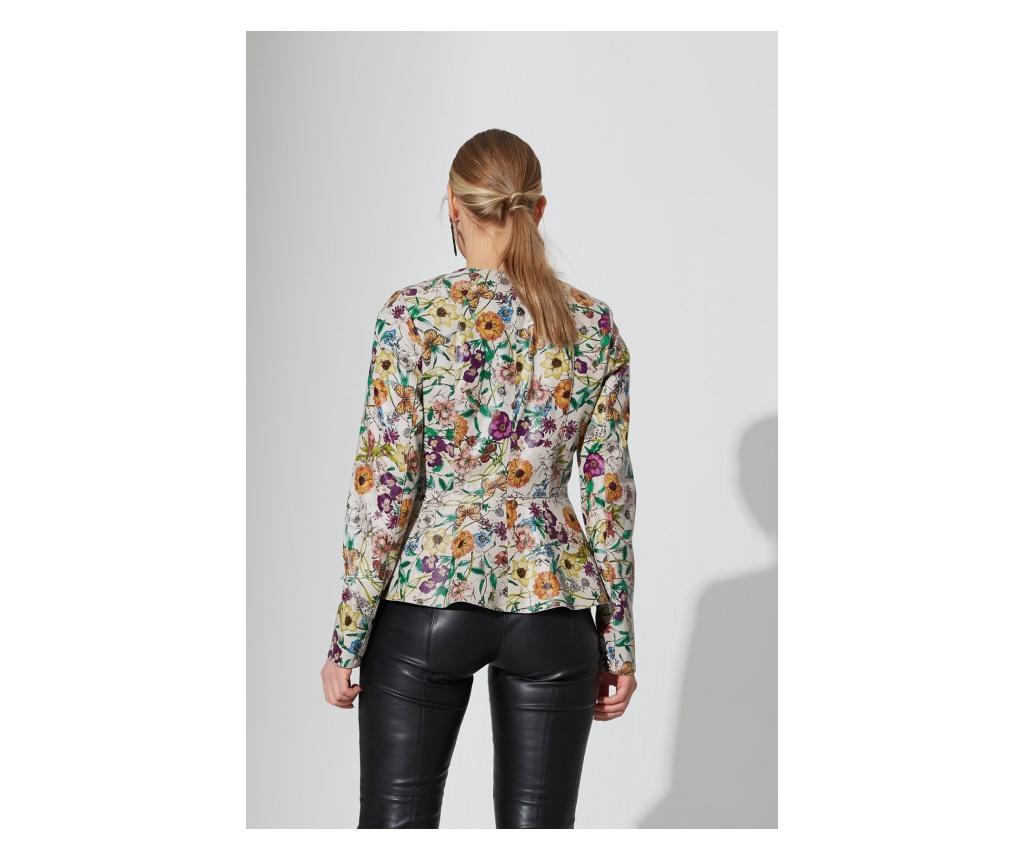Ženska kožna jakna Iparelde Flowers XL