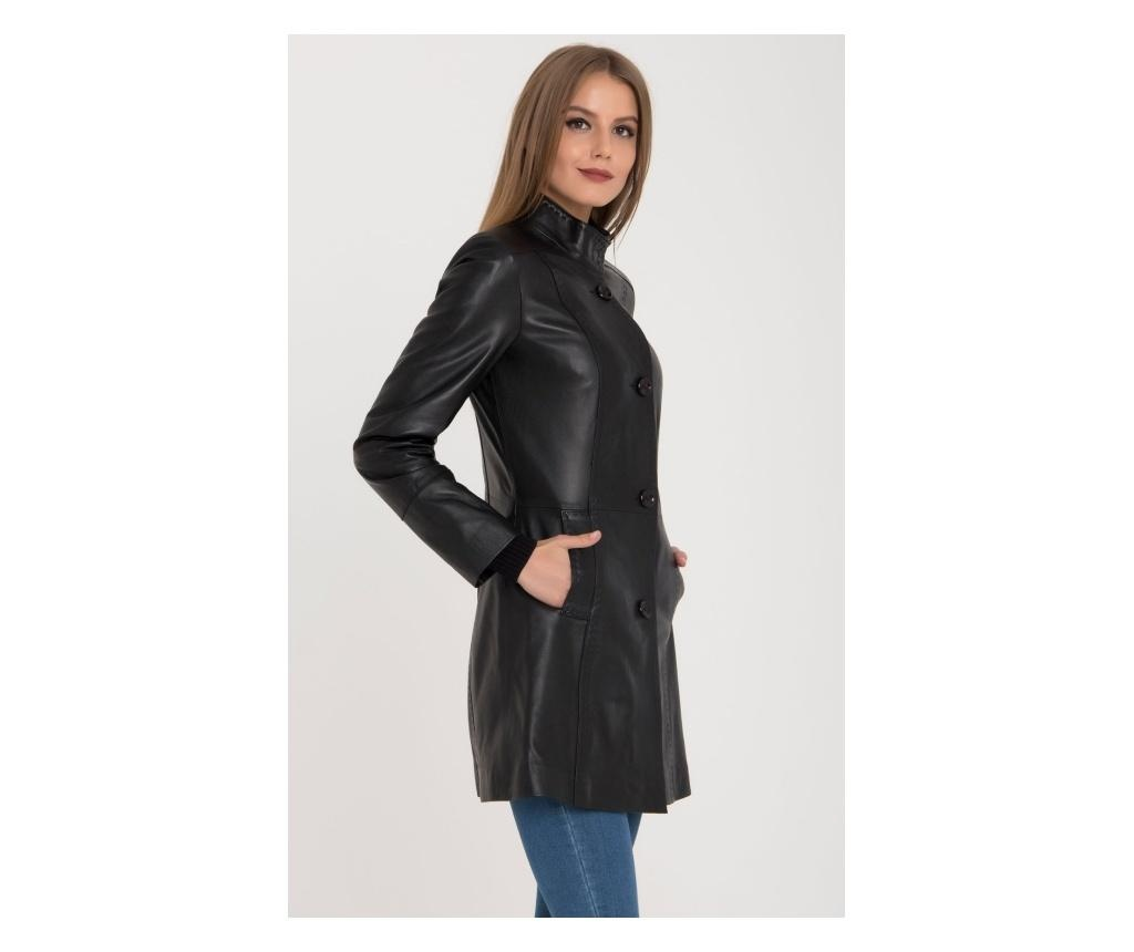 Ženska usnjena jakna Iparelde Black 3XL
