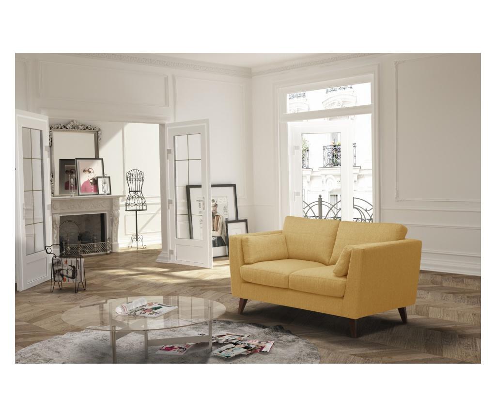 Kauč dvosjed Elisa Yellow