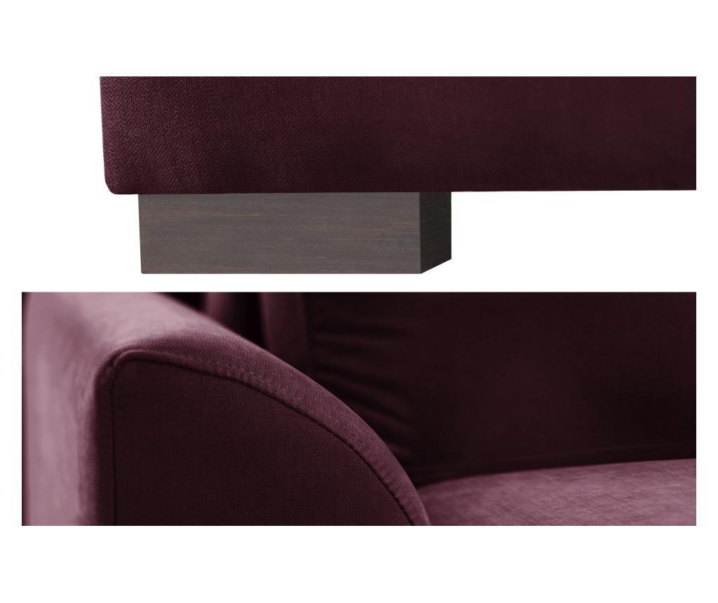 Sofa dvosjed na razvlačenje Irina Bordeaux