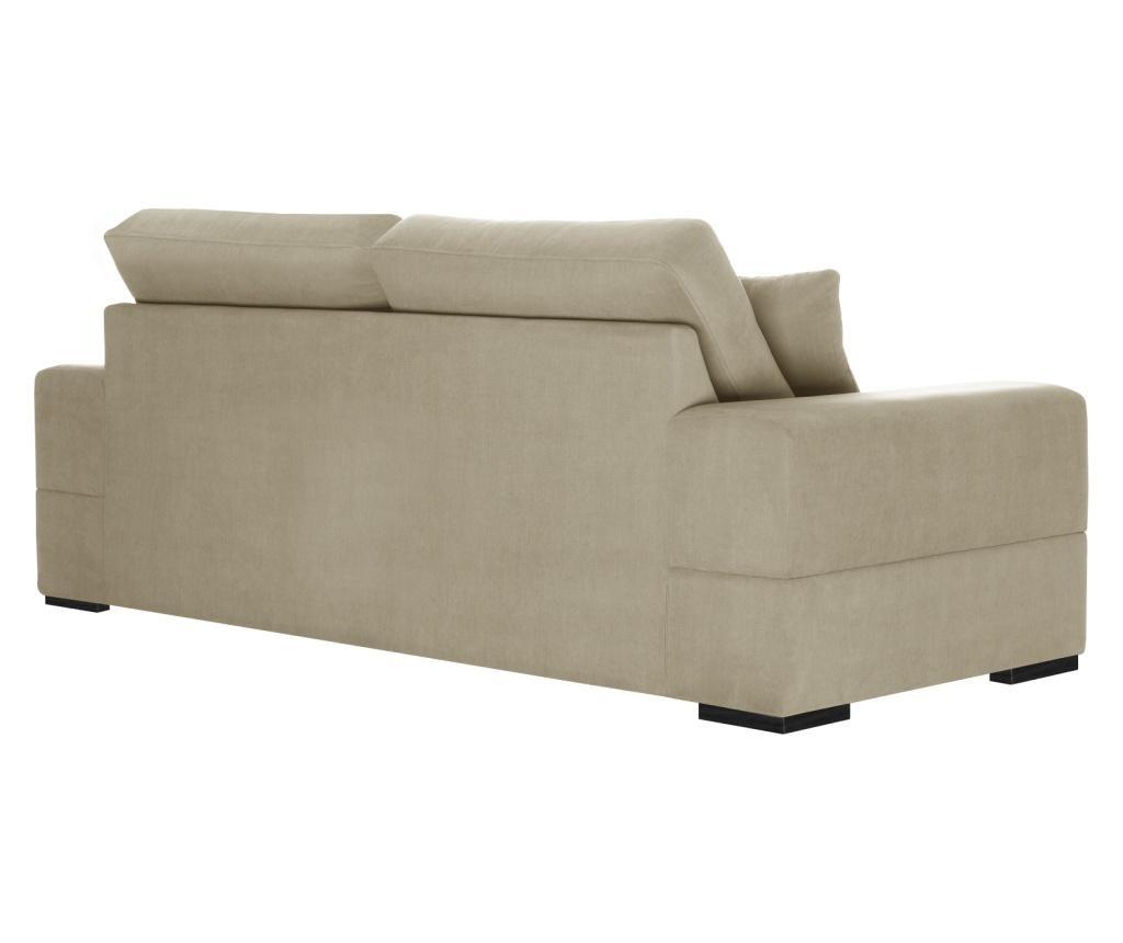 Dasha Beige Háromszemélyes kihúzható kanapé