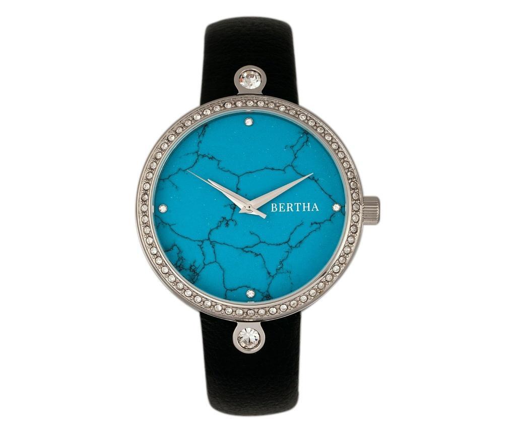 Ženski ručni sat Bertha Frances Black and Blue