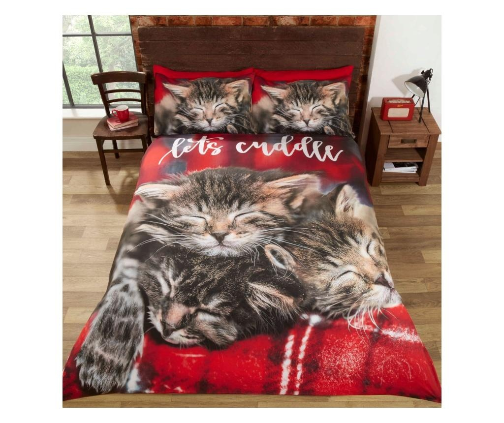 Cuddle Cats Egyszemélyes ágynemű