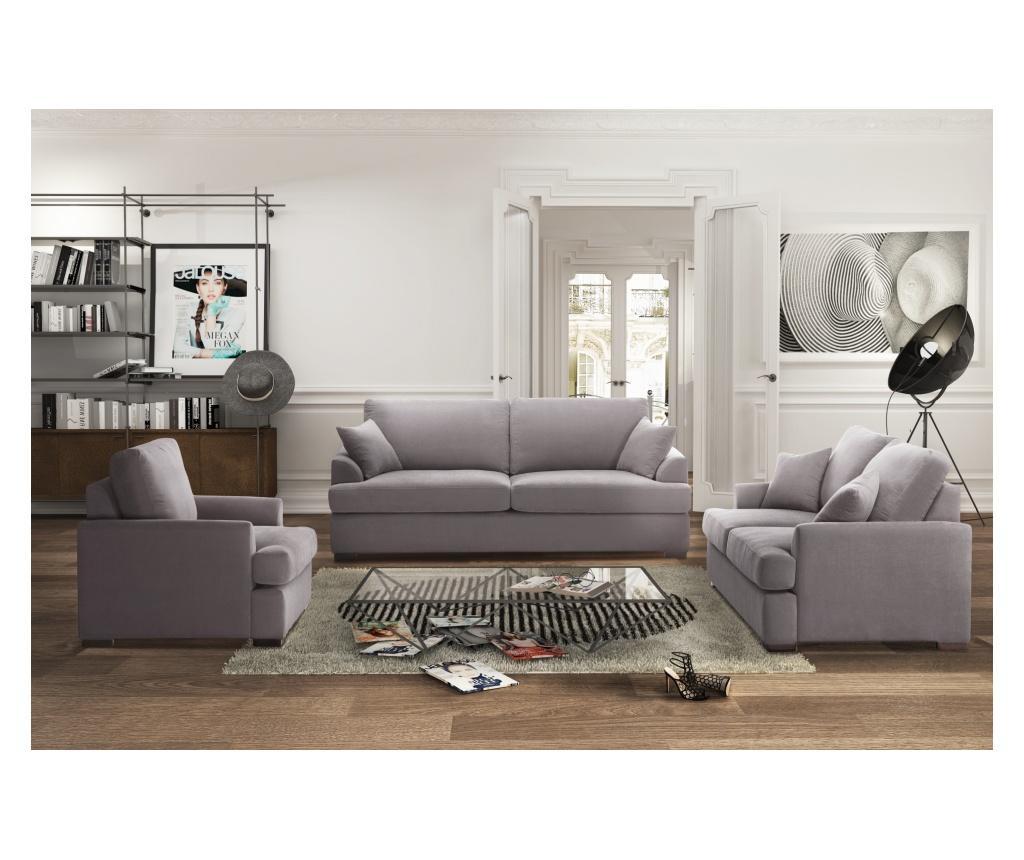Irina Ashen Brown Kétszemélyes kihúzható  kanapé
