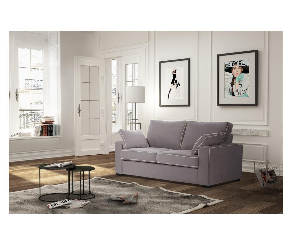 Sofa dvosjed Serena Ashen Brown
