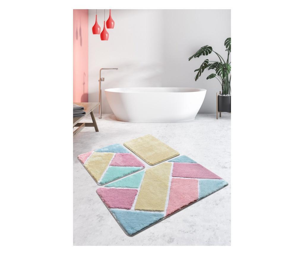 3 db Fürdőszoba szőnyeg