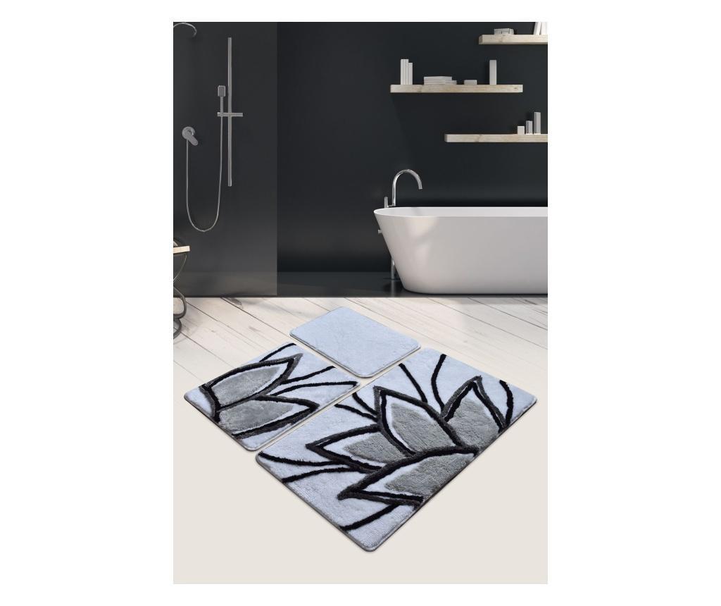 Set 3 kupaonska tepiha