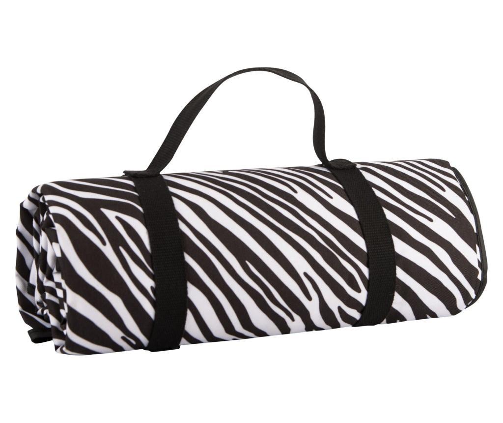 Patura pentru picnic Zebra Stripe 140x150 cm