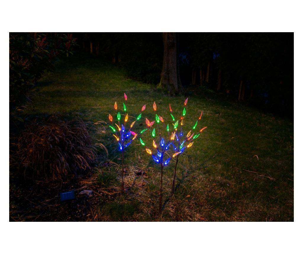 3 db Napelemes LED lámpa