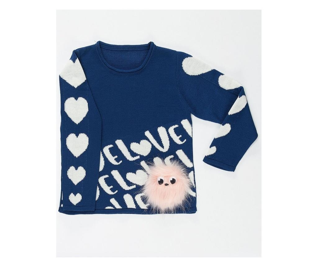 Pulover copii Hearts&Pompom 5-6 years