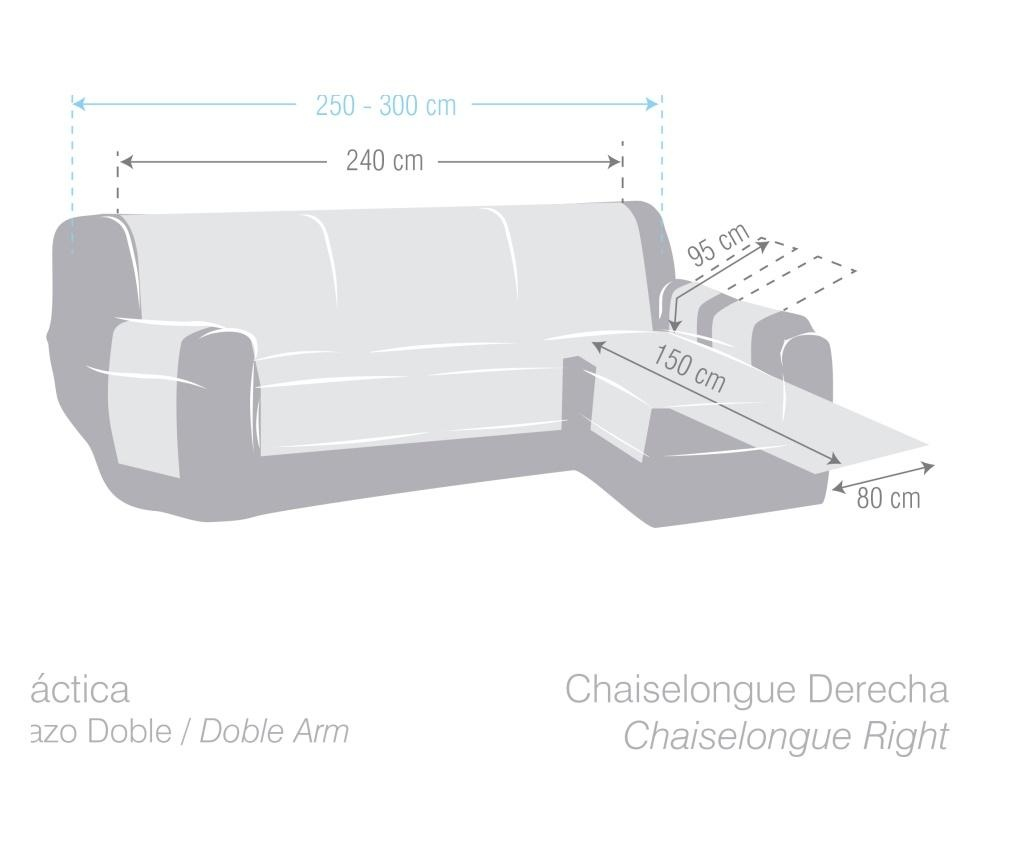 Chenille Bordo Jobboldali nappali heverő huzat 250-300 cm