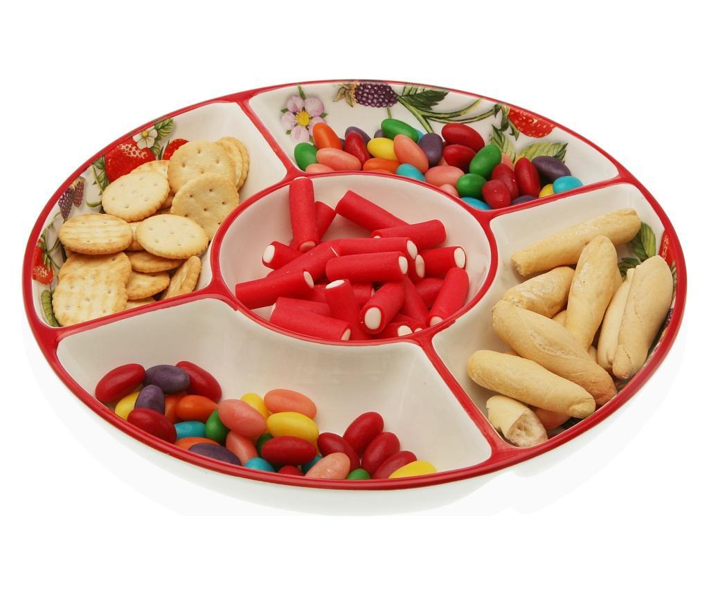 Servirni krožnik za prigrizke Fruits