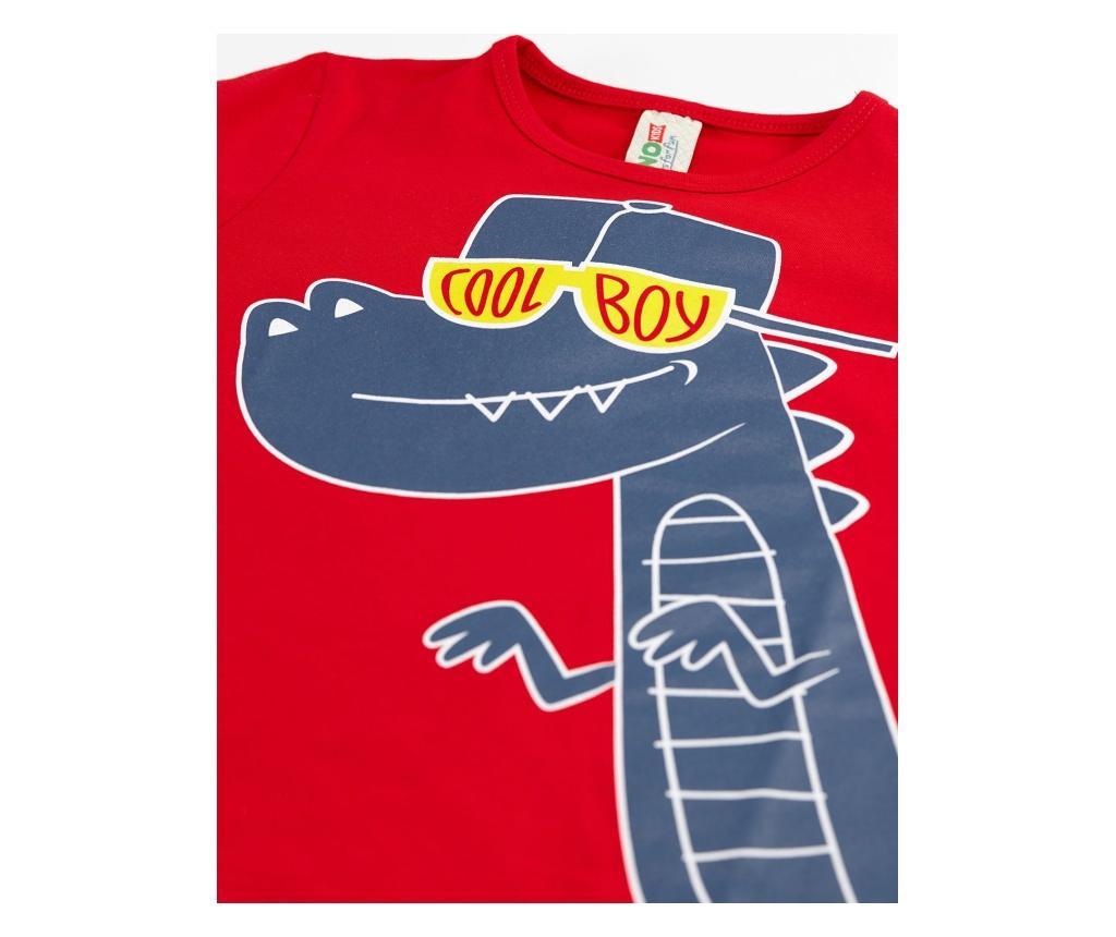 Otroški komplet - majica s kratkimi rokavi in kratke hlače Cool Dino 8 years