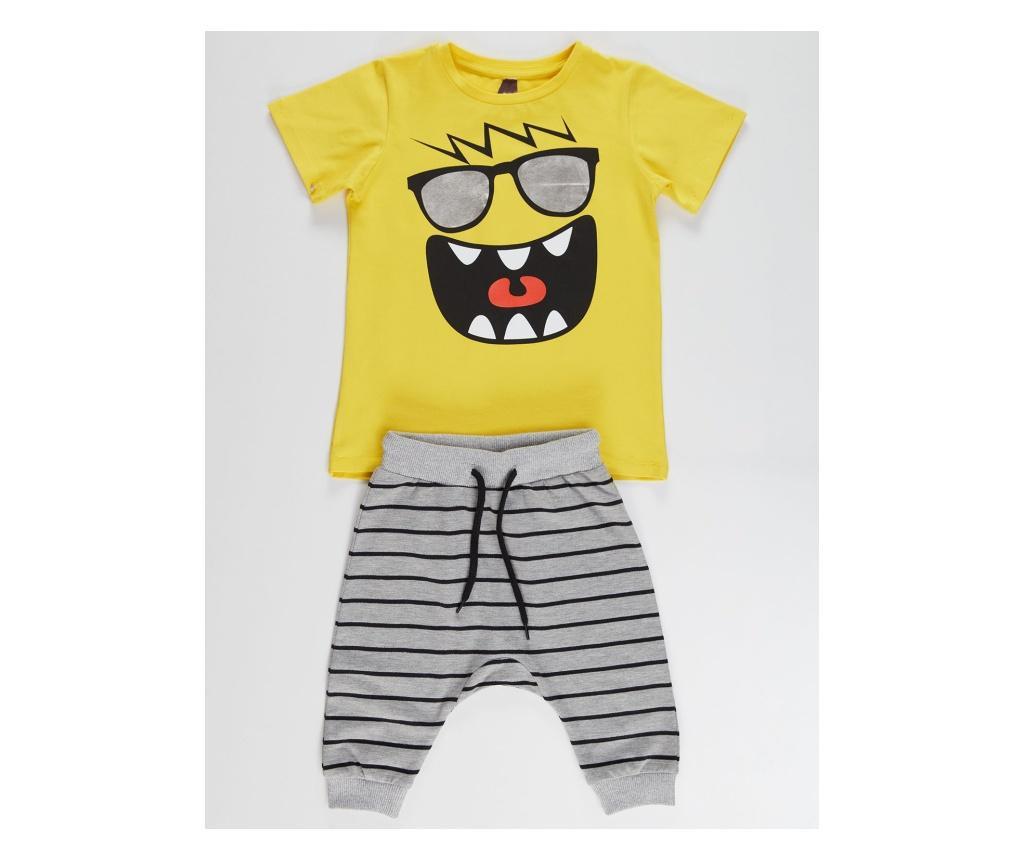 Set tricou si pantaloni pentru copii Joyful 6 years