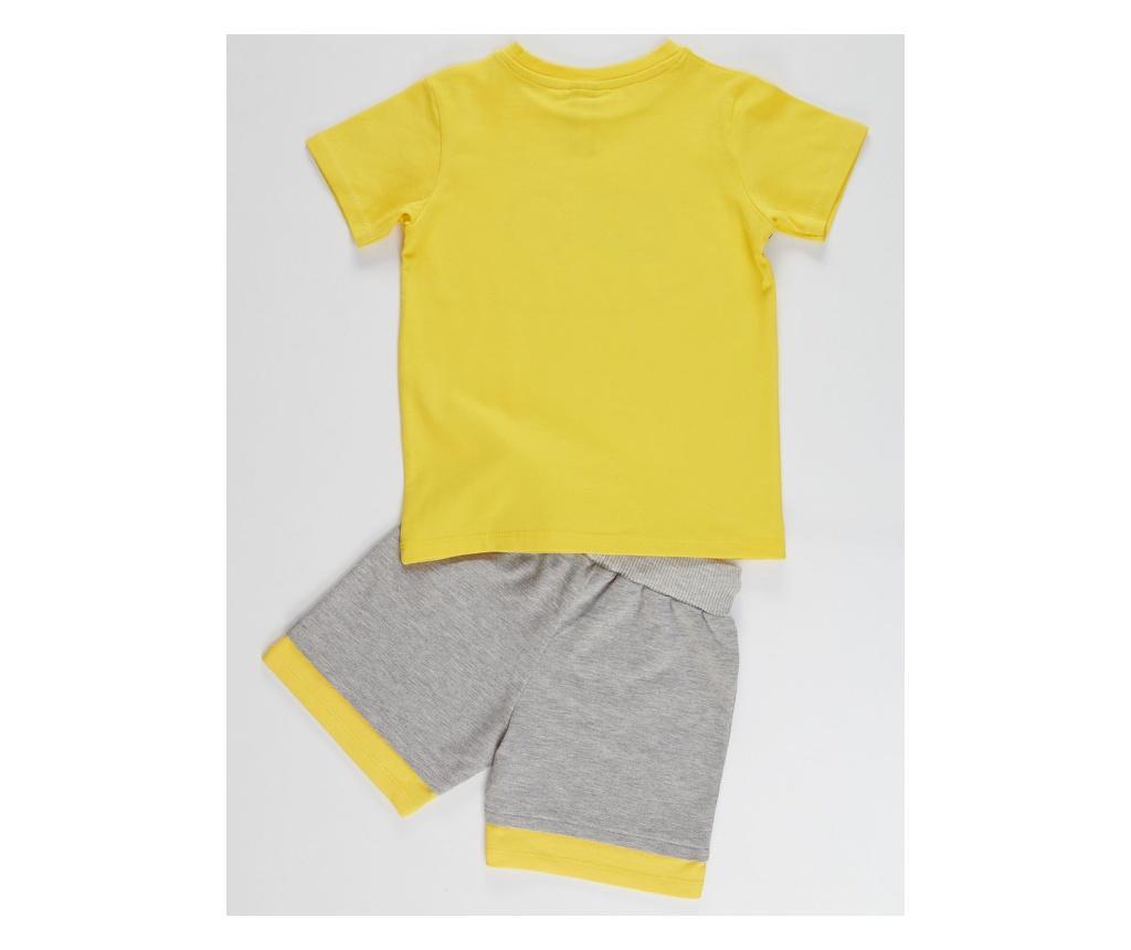 Otroški komplet - majica s kratkimi rokavi in kratke hlače Pirate 8 years