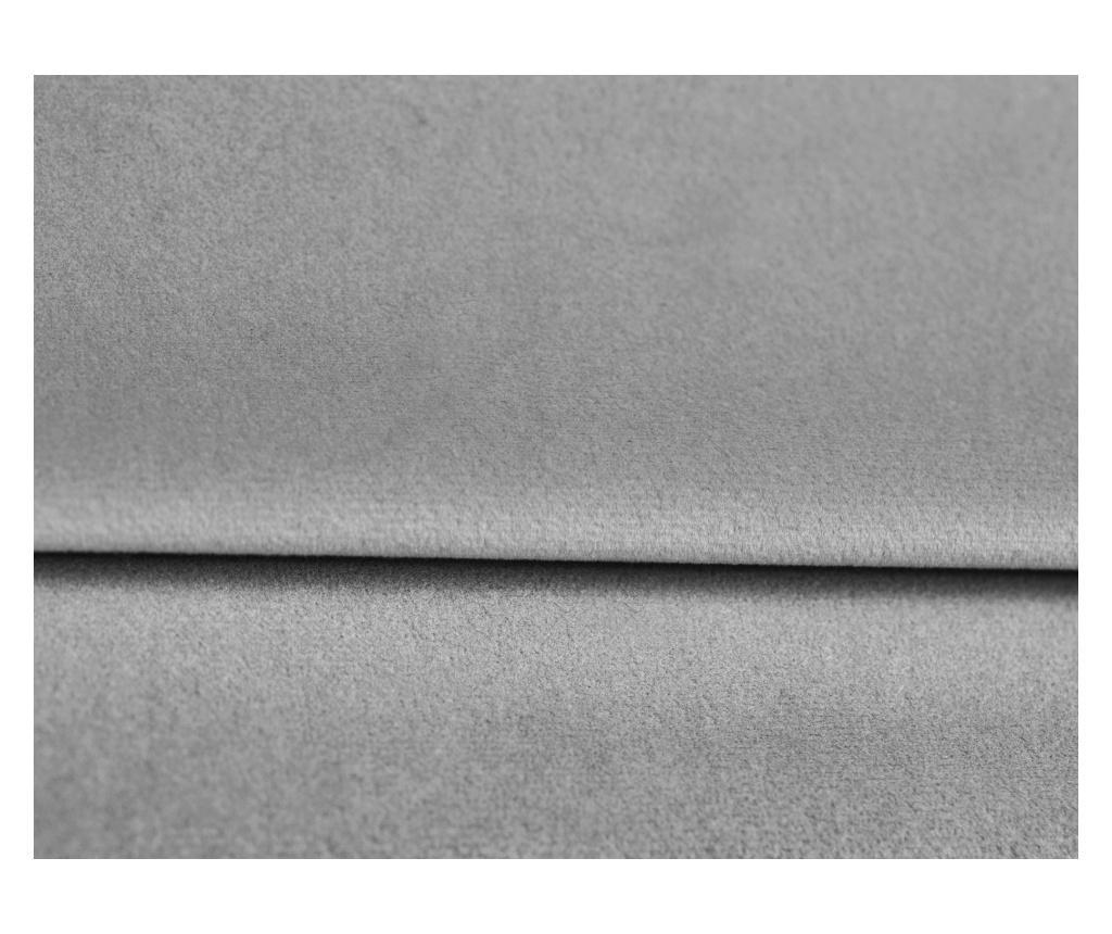 Begonia Light Grey Ágytámla 160 cm