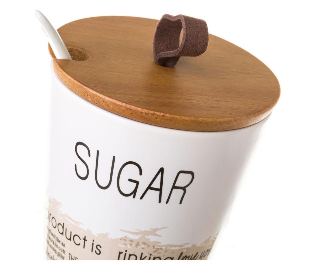 Set posuda za šećer i vrč Words