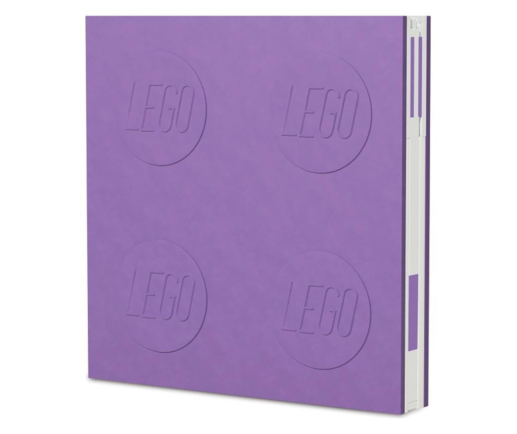 LEGO Lavender Jegyzettömb és golyóstoll