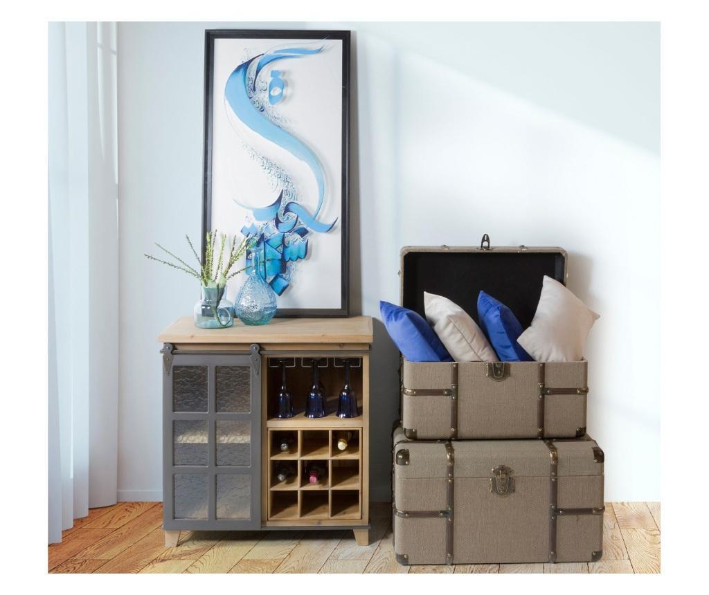 Ukrasni jastuk Samara Velvet Blue 30x50 cm
