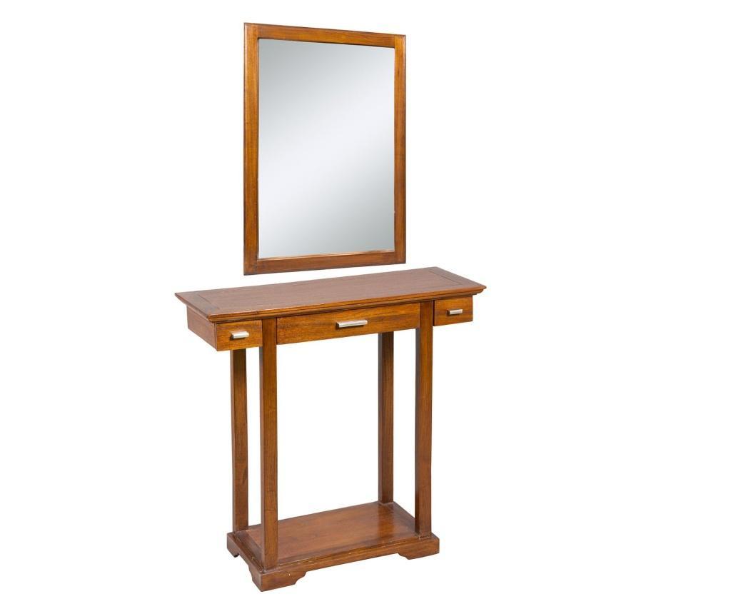 Set  konzola i zrcalo Clarice