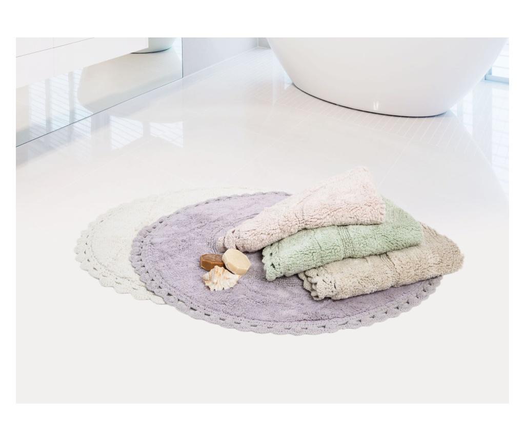 Catty Ecru Fürdőszoba szőnyeg 100 cm