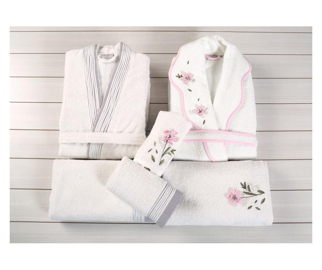 Laverne Family Ecru 6 db-os Fürdőszobai textilkészlet