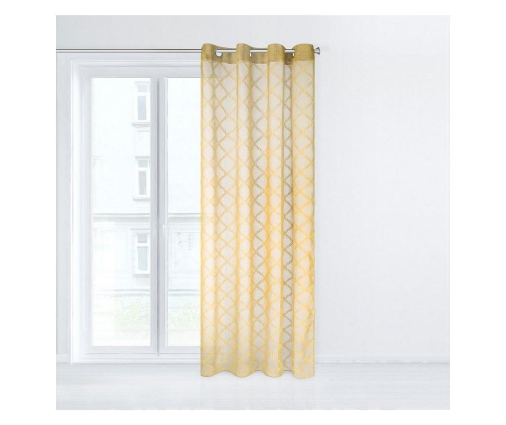Perdea Betsy Yellow 140x250 cm
