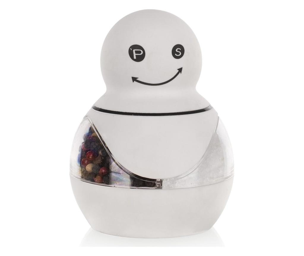 Rasnita pentru sare si piper Happy Face