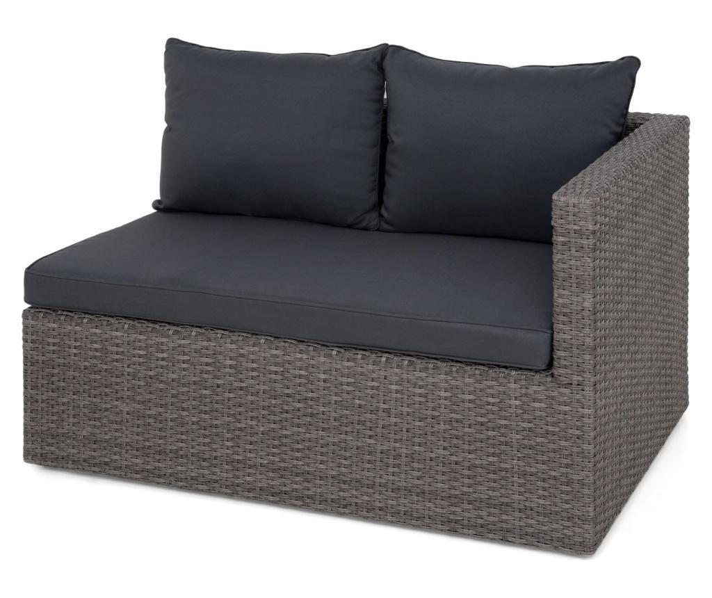 Set 2 vanjske sofe i stol Gibson