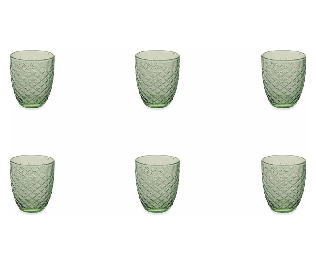 Spiga Green 6 db Pohár 332 ml