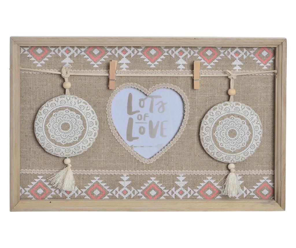 Memo plošča Ikat Love