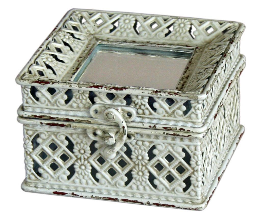 Cutie pentru bijuterii Lacy Cream