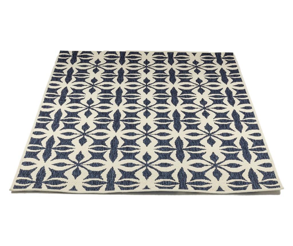 Covor Titor Cream & Blue 80x140 cm