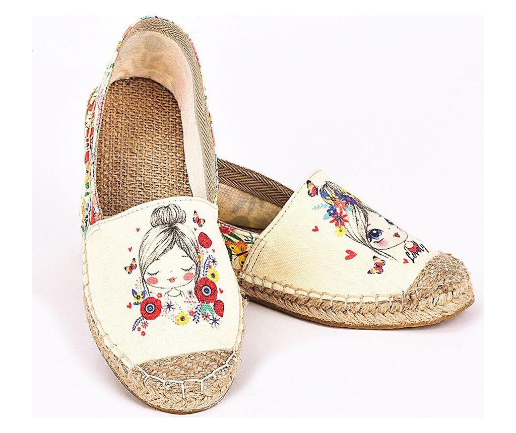 Lovely Női espadrille cipő 37