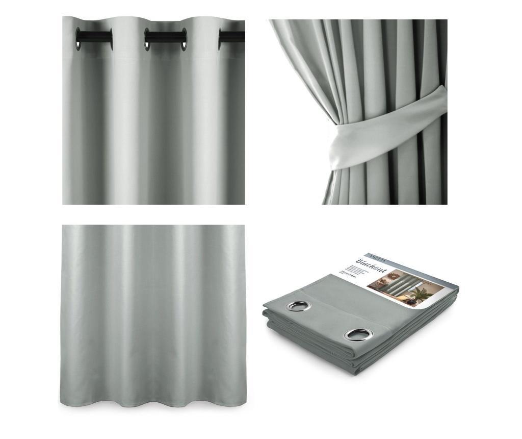 Blackout Silver Sötétítő 140x245 cm