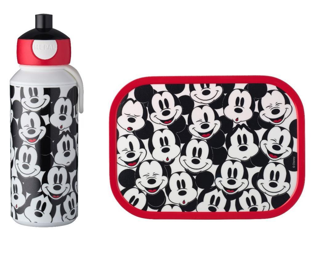Set boca i kutija za ručak Campus Mickey Mouse