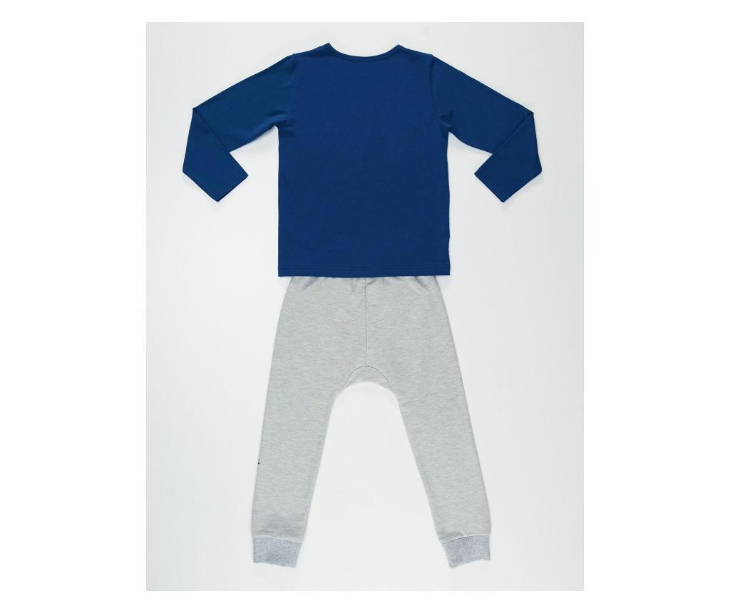 Set bluza si pantaloni Salamander Grey/Navy 6 years
