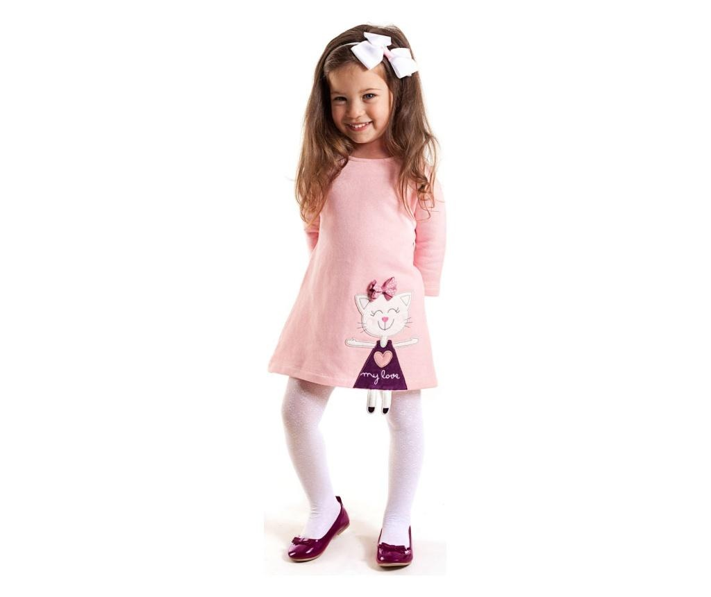 Rochie Cat Pink 3 years