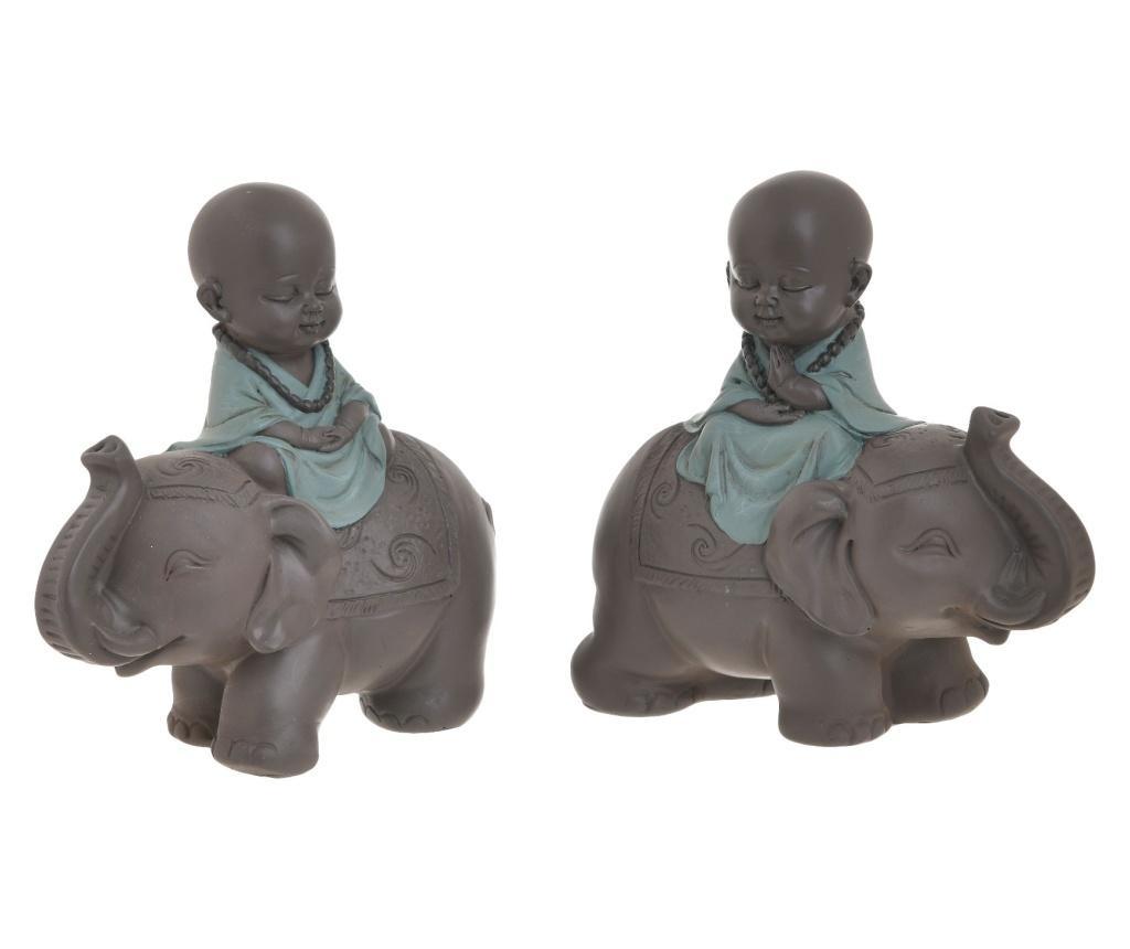 Buddha 2 db Dísztárgy