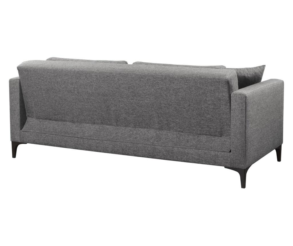 Gauge Concept Grey Kihúzható háromszemélyes kanapé